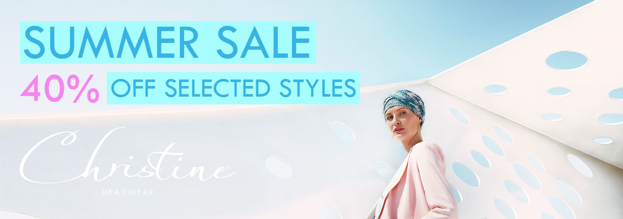Christine Headwear Sale Summer 2020