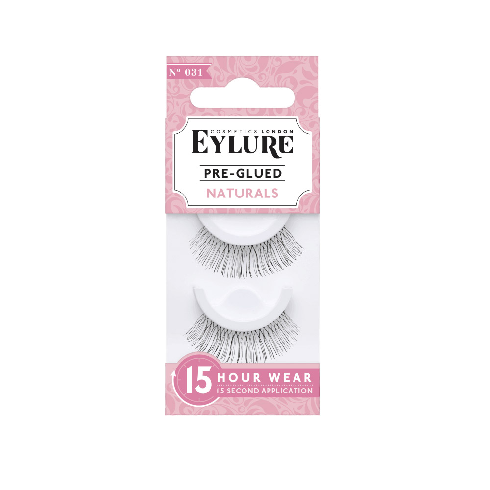 Eylure 031 Natural Pre Glued Lashes