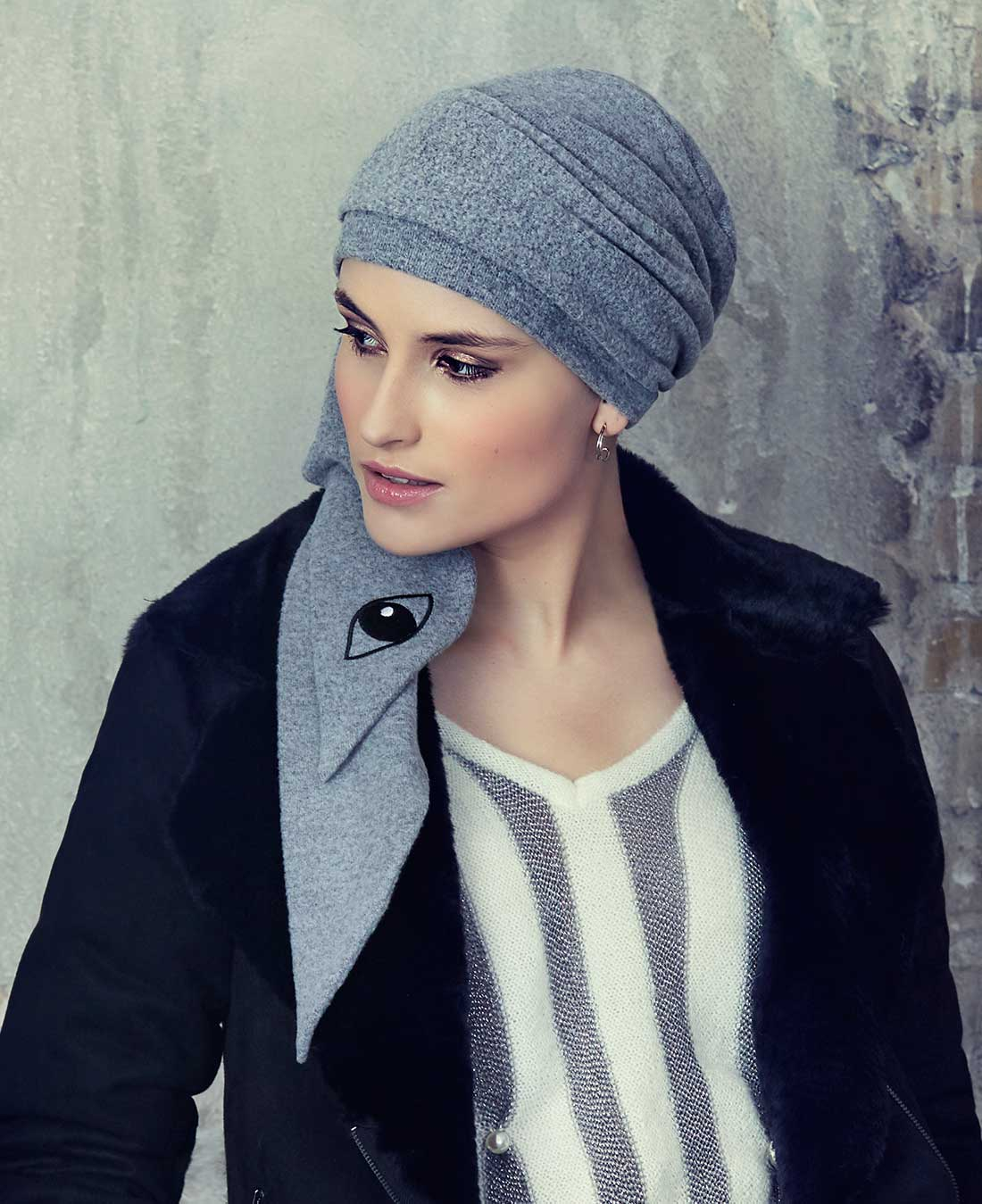 1396 - Karla V Scarf (Brushed) A/W 18
