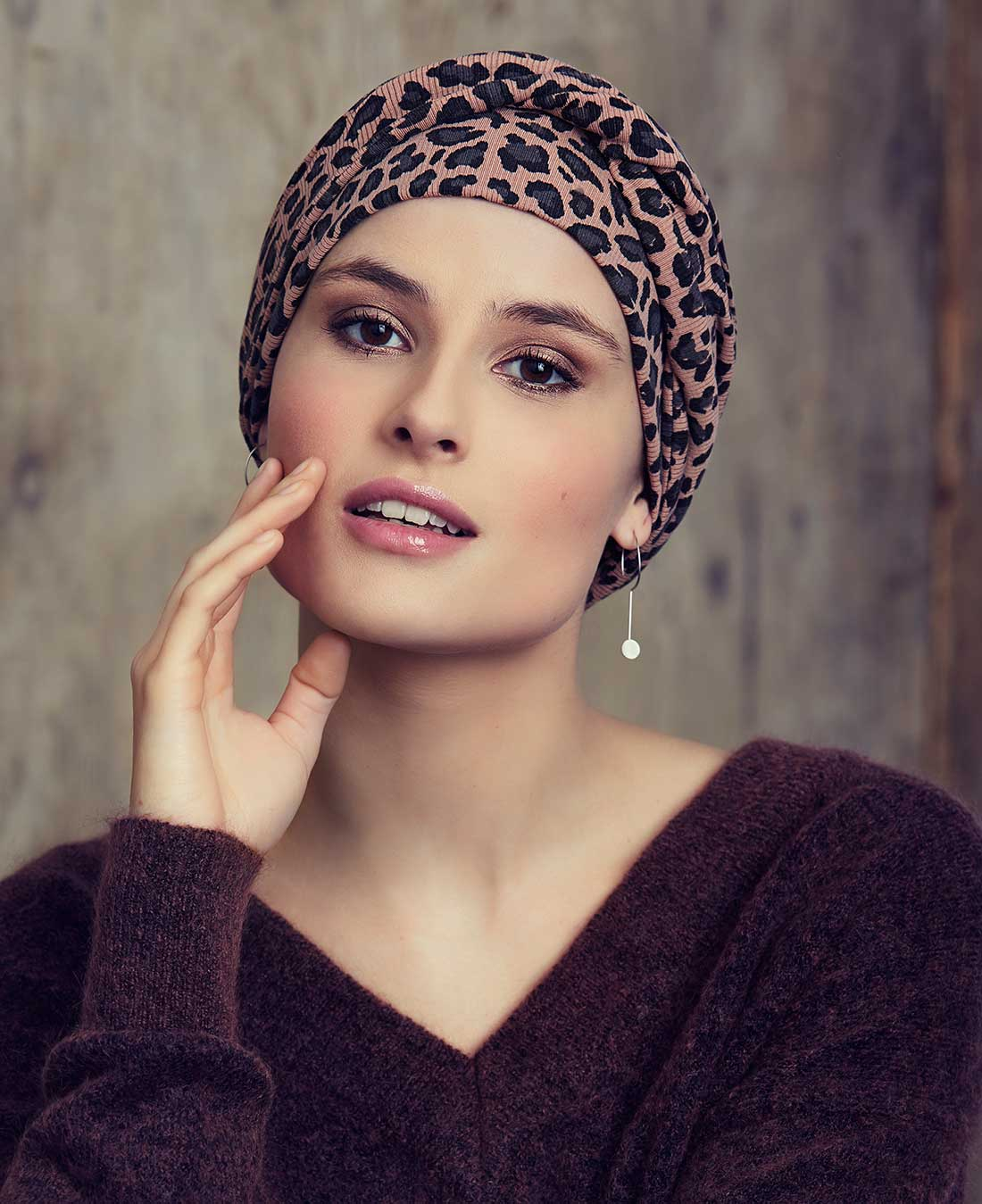 1413 - Edith V Turban (Animal Print)